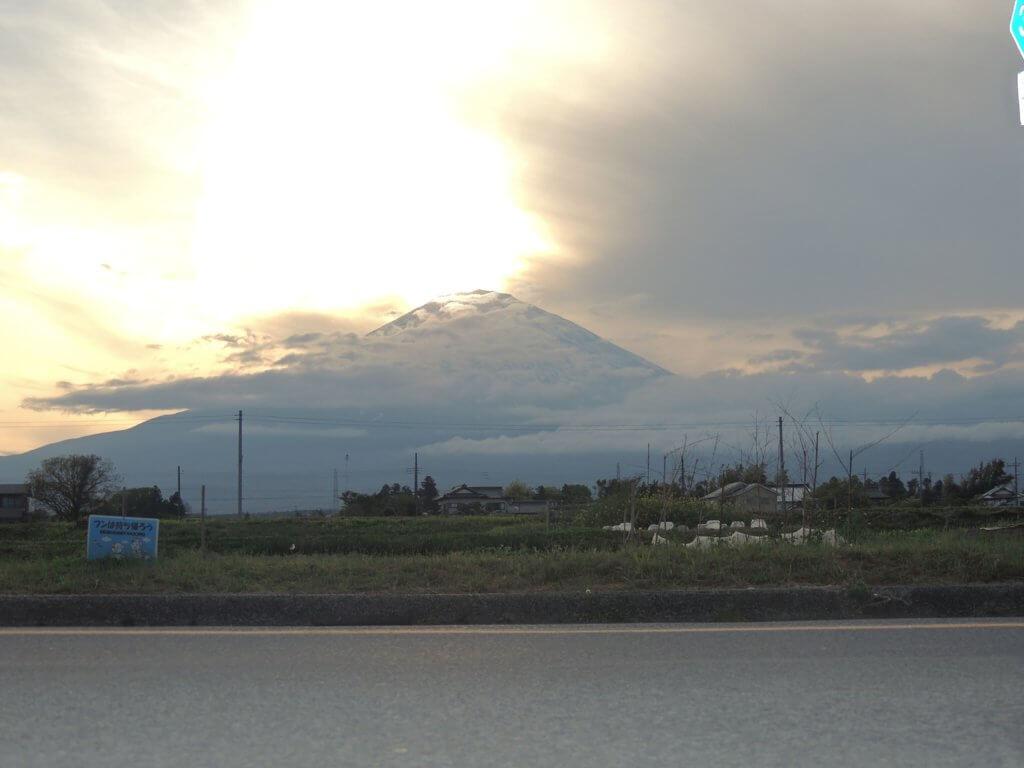 Mont Fuji vu de Gotenba au Japon
