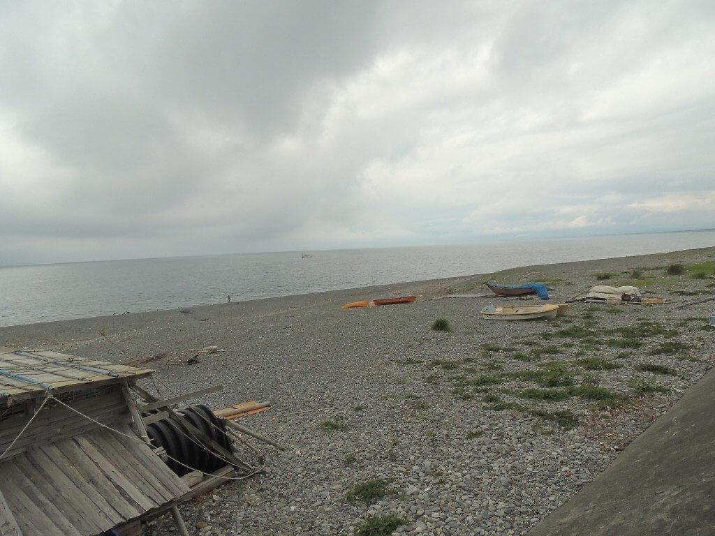 Photo d'une plage à Fuji